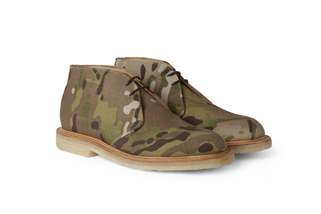 Desert Boots goes army