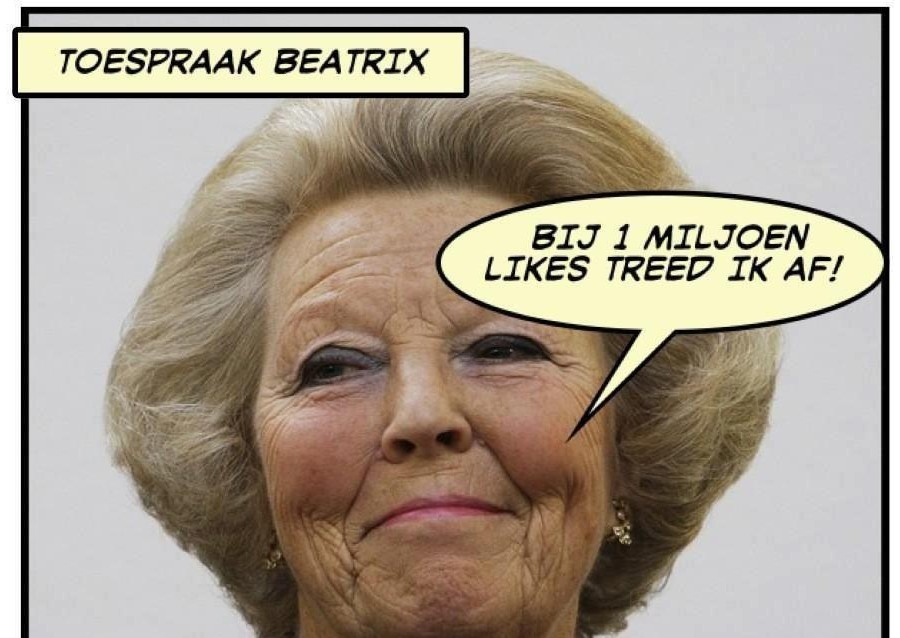 Alle inhakers voor Beatrix