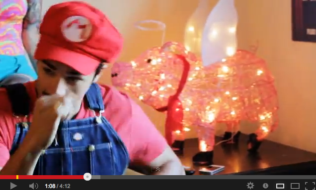 YouTube hit mario
