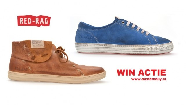 Win 2 paar red rag mannen schoenen bij misterdaily.nl
