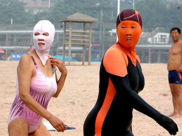 The Facekini – trend China