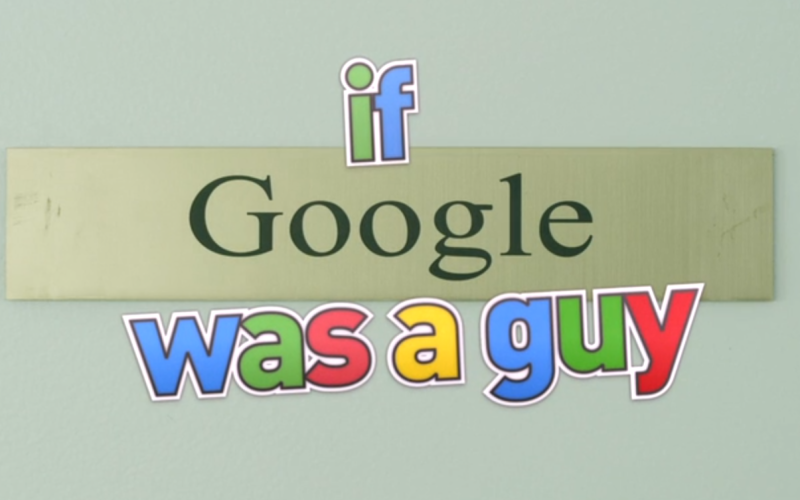 Als Google een mens was